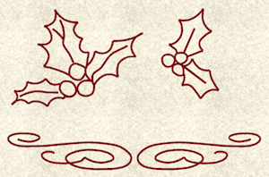 scrolls-and-holly